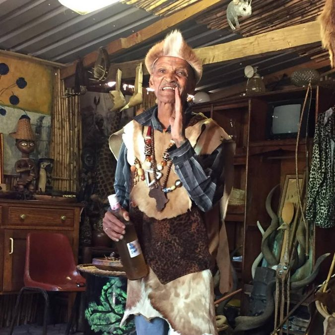 Khoisan Chief Chris